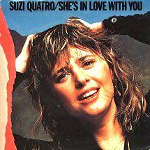 45cat - Suzi Quatro - She's In Love With You / Space Cadets - RAK - UK - RAK 299