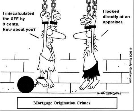 Mortgage Humor. Somedays, it probably does seem like this to my friends in loan origination positions.