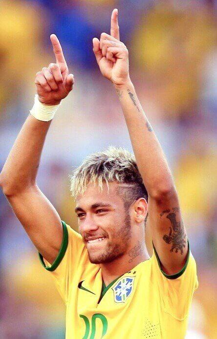 29 Der Besten Neymar Frisuren 2014 Neymar Jr Soccer Player
