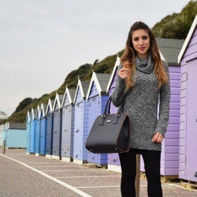 Italian fashion and travel blogger visita Bournemouth, UK