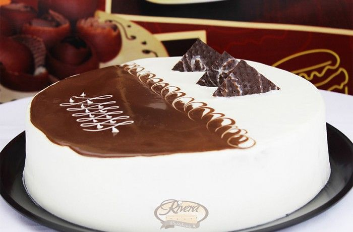 Pastel Choco Queso