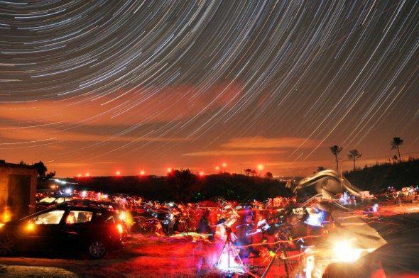 Moimenta da Beira recebe maior concentração de telescópios do país