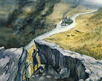 Minas Tirith - Tol Sirion's siege - digital hi res jpg