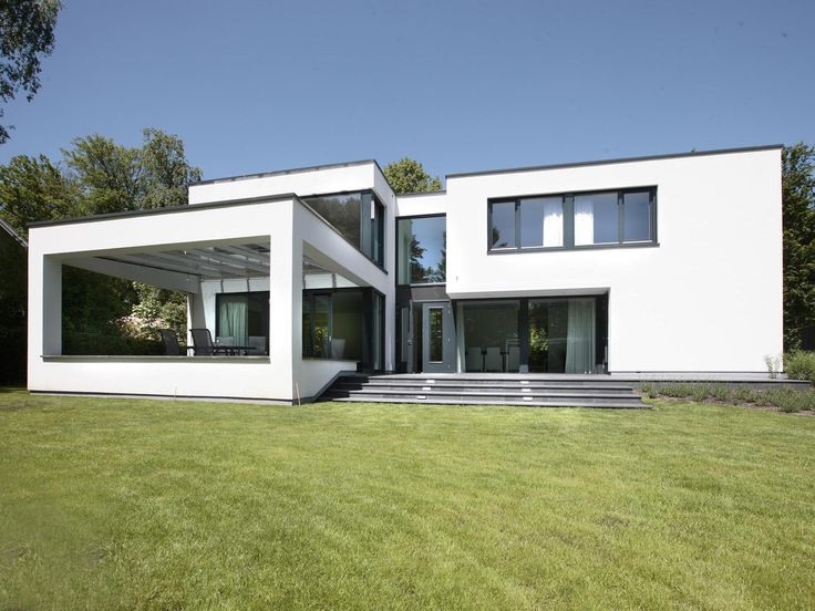 Maas architecten woonhuis warnsveld kubistische bouw for Nice modern houses