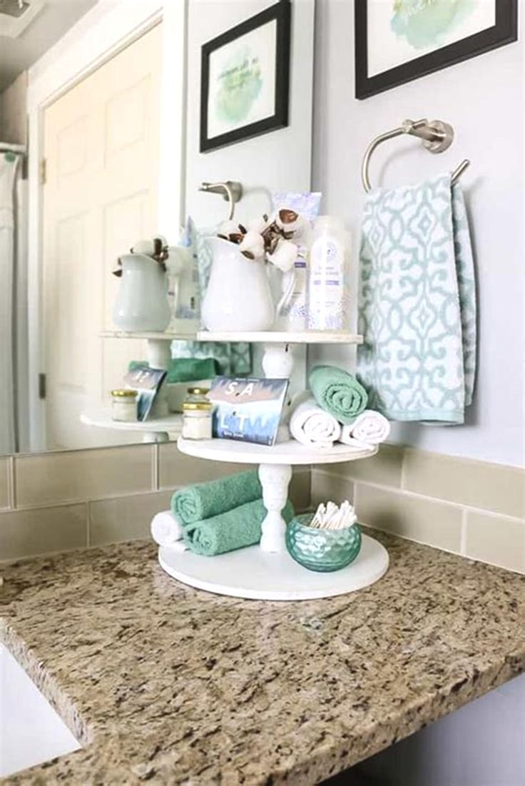 40 Beautiful Bathroom Vanity Tray Decor Ideas | Bathroom vanity tray, Beautiful bathroom vanity, Vanity tray decor