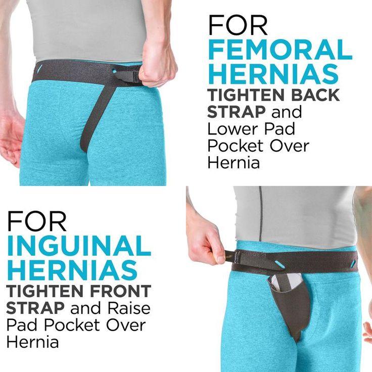 Inguinal Hernia Belt Groin Support Truss for Bilateral