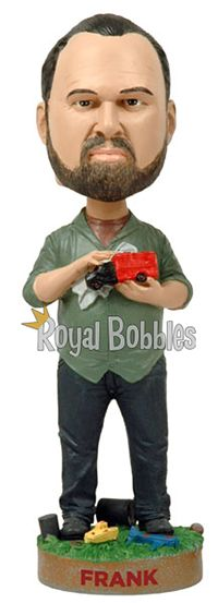 "Frank from History Channel's hit show ""American Pickers."" #Bobblehead #RoyalBobbles"