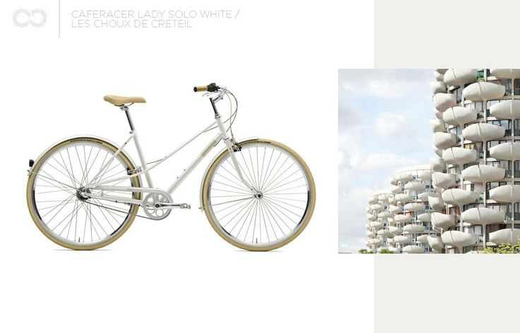 Caferacer Lady Solo White + Les Choux de Creteil  #bike #creme #cycles #cremecycles #cycling #ride #mybike #freedom #lifestyle #art #life #love #city #cyclingphotos