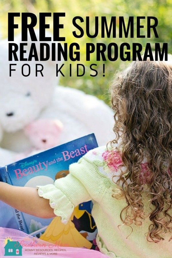 Free Summer Reading Programs for Kids! http://www.lifeofasouthernmom.com/free-summer-reading-programs-for-kids.html #summer #reading