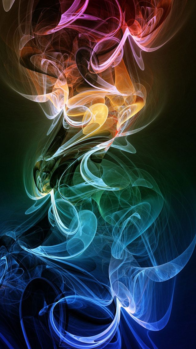 Rainbow Smoke #iPhone #5s #Wallpaper | Colorful color,colorful dream.