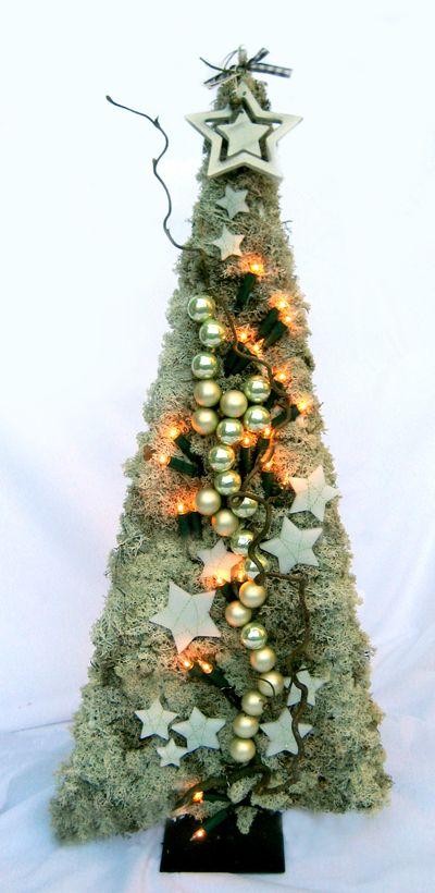 Bloemschikken Rosalie: Bloemschikken Advent & Kerst 2012 - Kerstboompje 2