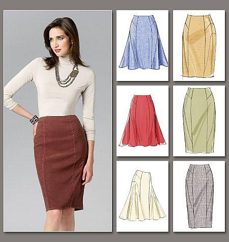 55 best Skirt Patterns images on Pinterest   Factory design pattern ...