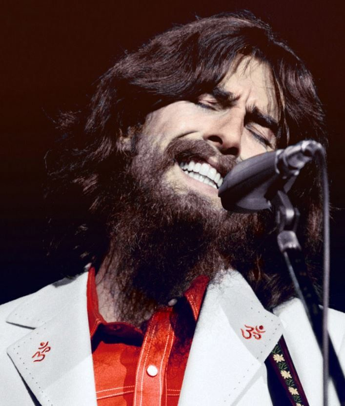 George Harrison, Concert for Bangladesh, August 1, 1971.