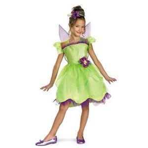 【コスプレ】 disguise Fairies / Tinkerbell Rainbow Deluxe 3T-4T ティンカーベル - 拡大画像