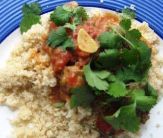 marokkanske kødboller og couscous