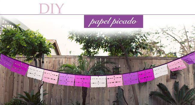 DIY: Papel Picado Flags