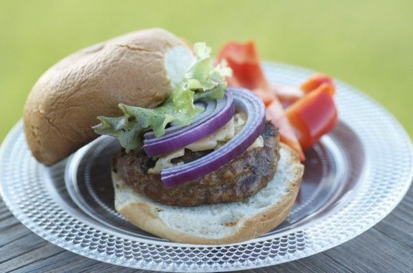 These are the perfect gourmet hamburgers for your Memorial Day festivities!! via @J O-Lynne Shane