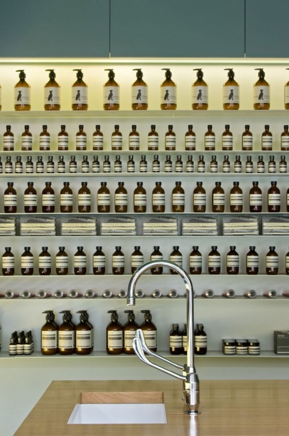 Aesop's store, Armadale, designed by Paphitis with Melbourne architect Ryan Russell. http://bit.ly/HkPwFA