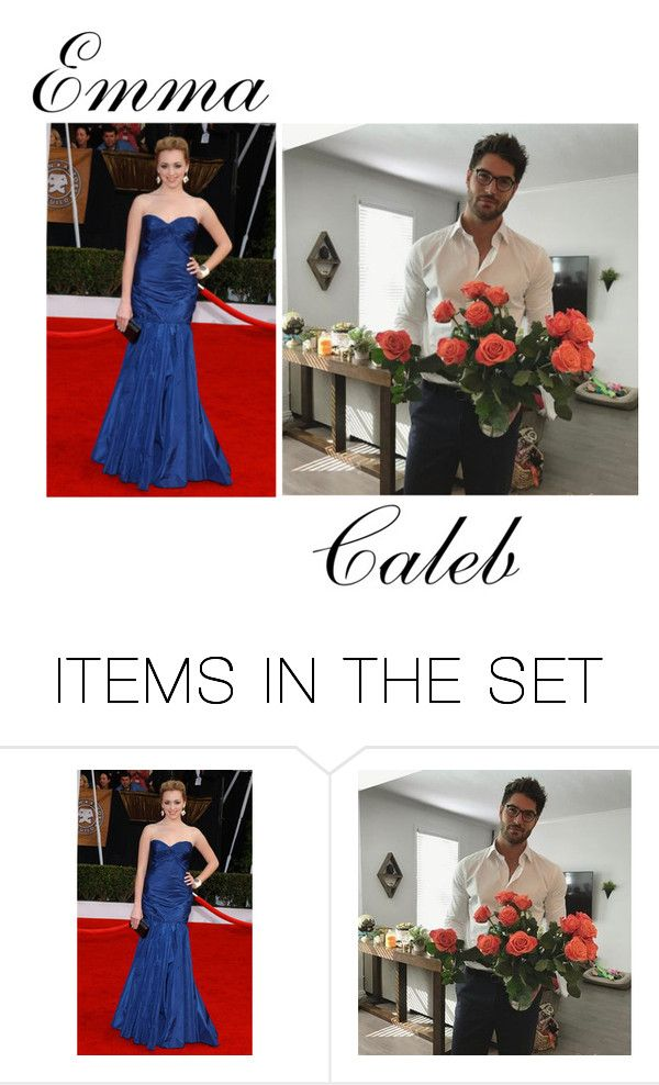 """""""Emma and Caleb prp"""" by justananonymous ❤ liked on Polyvore featuring art"""