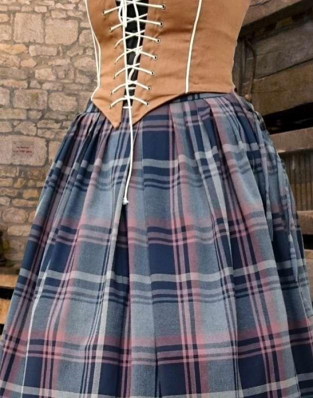 Schottenrock damen rot