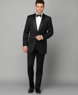 Tommy Hilfiger Suit Separate, Tuxedo Shawl Collar Slim Fit - Mens Suits & Suit Separates - Macy's