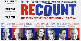 2008 DOCUMENTARIES: 'Recount' HBO dramatization of the 2000 presidential election, Al Gore concedes the Presidency to George W Bush but recants when he learns of irregularities in the Florida vote count.