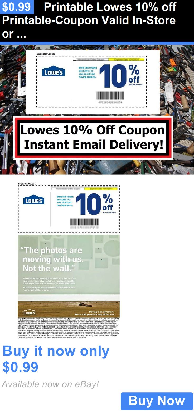 Lowes 10 discount coupon