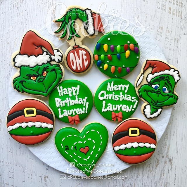 We're all excited for the holidays! I love making Christmas cookies. :) #creeativecookies #decoratedcookies #sugarcookies #sugarcookieart #sandiegochristmas #customsugarcookies #customcookies #holidaycookies #happyholidays2015 #happyholidays #grinchcookies #mrgrinch #thegrinch #thegrinchwhostolechristmas #grinchcookies #holidaycookies #birthdaycookies #xmas #xmascookies #merryxmas #happysaturnalia