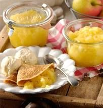 Kruidige appelcompote