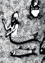 Oannes as merman, from palace of Sargon II, Khorsabad