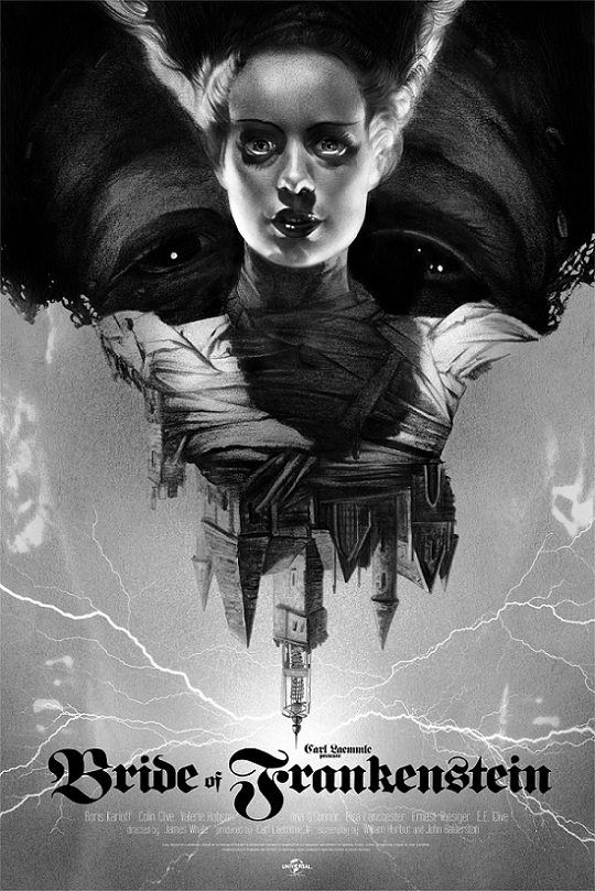 The Bride of Frankenstein (1935) [540 x 809]