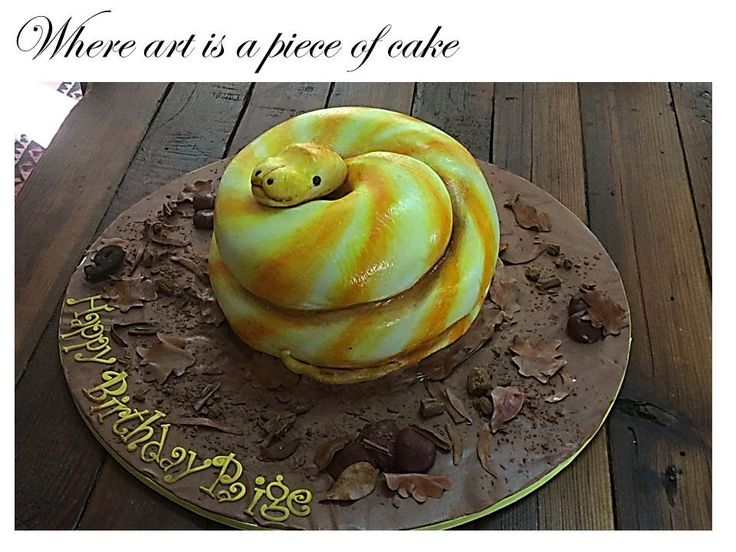 Another snake cake.