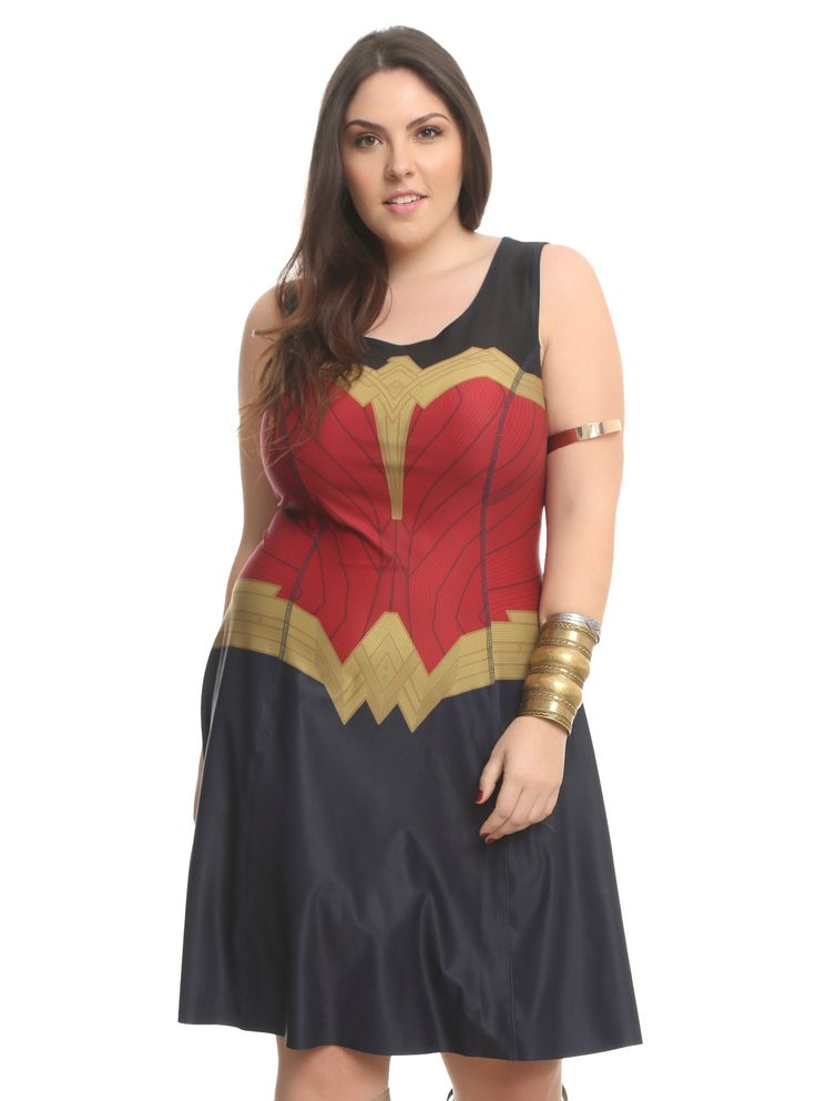 Plus size sexy wonder woman costume