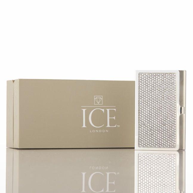 Silver Swarovski Crystal Card Holder | R1000 | http://bit.ly/ZO0Swi