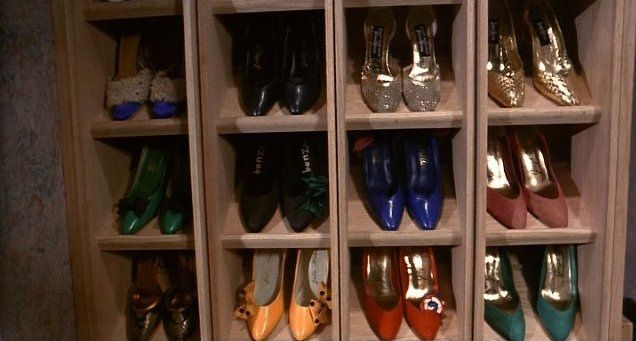This Is By Far The Coolest Shoe Rack From The Movie