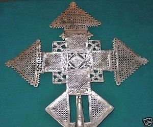Handmade Ethiopian Orthodox Christian Metal Processional Cross Ethiopia, Africa | eBay