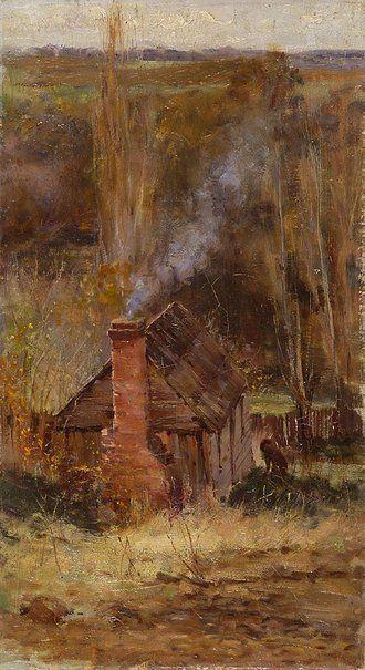 Cottage, Macedon - Frederick McCubbin