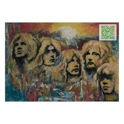 "KUNST ALS POSTKARTE ""Deep Purple"""