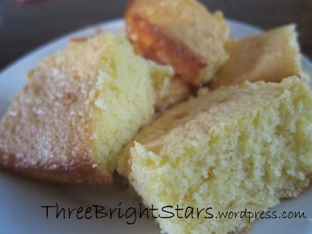 I love cornbread! And I love that our three bright stars also love cornbread! If I don't buy cornbread from our local grocery story bakery department, then I usually mix up a box of Jiffy cor…