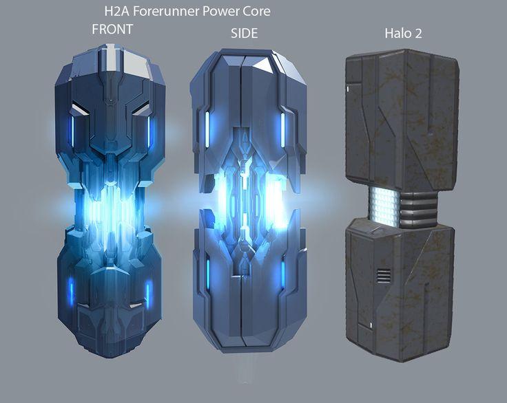 Halo 2 Anniversary Forerunner Power Core, Jason Borne on ArtStation at https://www.artstation.com/artwork/halo-2-anniversary-forerunner-power-core