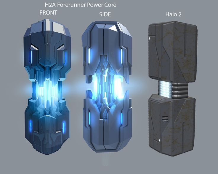Halo 2 Anniversary Forerunner Power Core, Jason Borne on ArtStation at https://www.artstation.com/artwork/halo-2-anniversary-forerunner-power-core