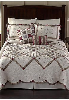 Nostalgia Home Fashions Claire Bedspread - Online Only