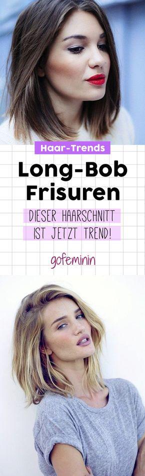 Long Bob Frisuren 2017: DIESE Schnitte sind jetzt Trend