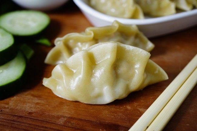 Pot Stickers Recipe – Steamed Pork and Shrimp Dumpling