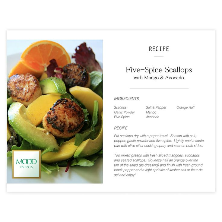 Scallops, Mango and Spices on Pinterest
