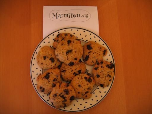 Recette Original American Cookies de Mike