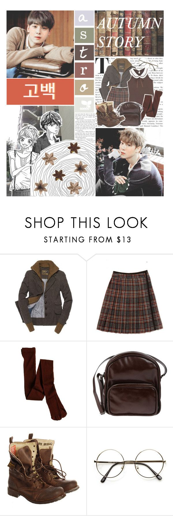 """Confession By. ASTRO"" by josi-heart ❤ liked on Polyvore featuring Superdry, Steven Alan, J.Crew, Jil Sander Navy and ZeroUV"