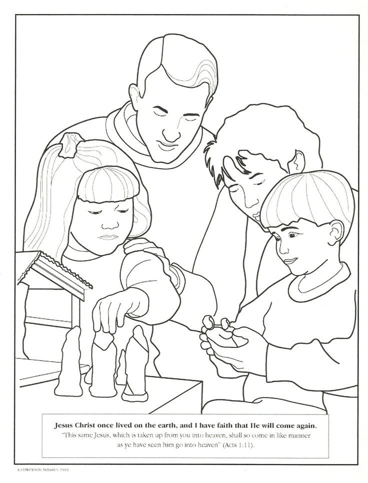 several lds coloring pages primary lessonslds - Coloring Pages Primary Lessons