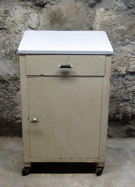 vtg 1940 50s simmons furniture metal medical. Vintage Metal Medical Cabinet By Stonehousevintage On Etsy, $225.00 Vtg 1940 50s Simmons Furniture S