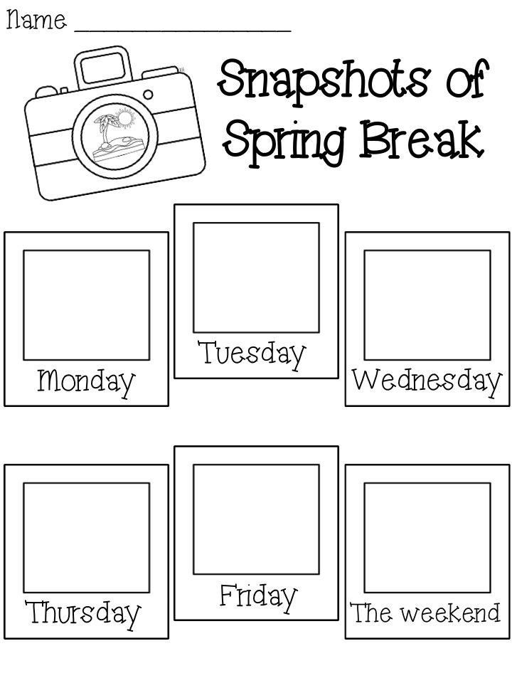 Spring Break Freebie!